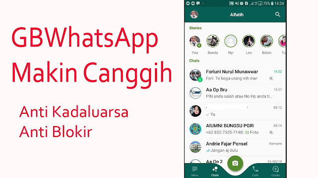 Gb WhatsApp Anti Blokir Versi Terbaru V8.0