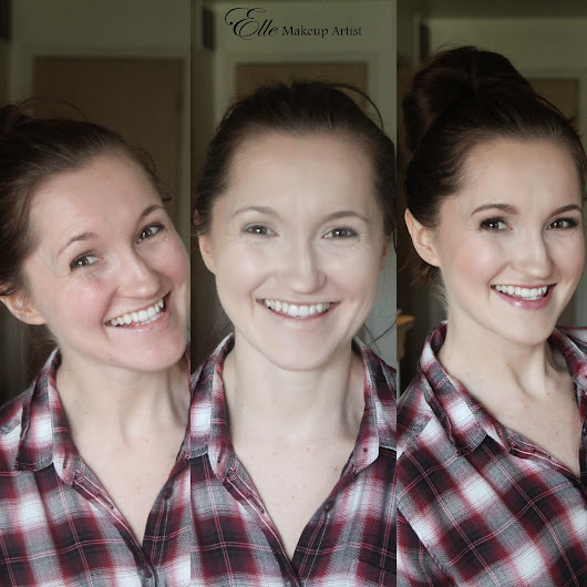 New Dinair Airbrush Makeup - Before and After