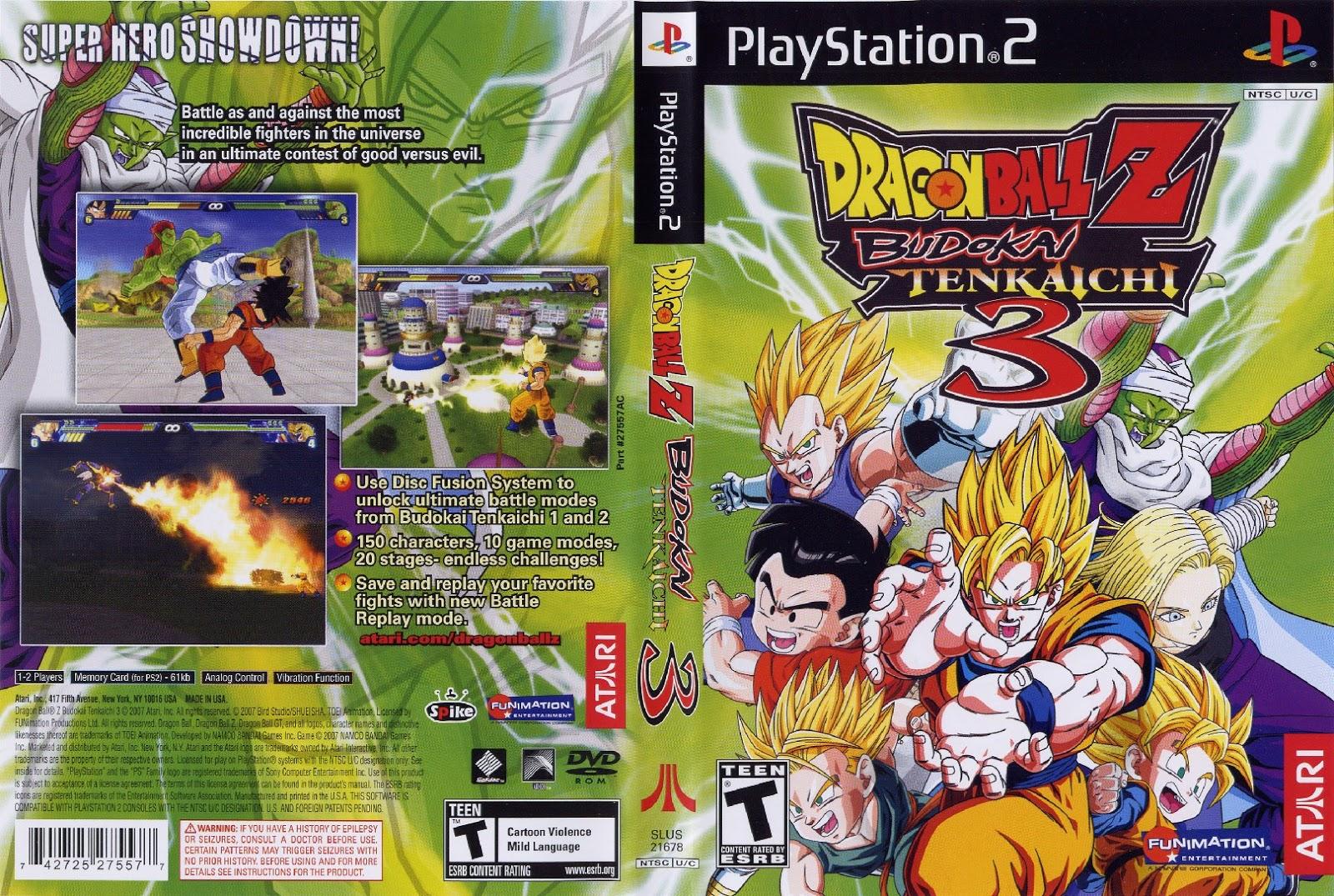 Dragon ball budokai tenkaichi 3 pcsx2 download   Raw cheat