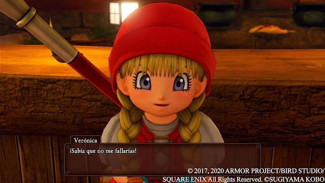 Verónica Análisis de Dragon Quest XI S Ecos de un pasado perdido