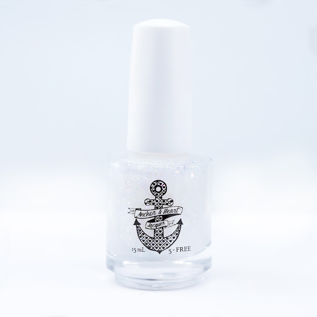 Anchor & Heart Lacquer Glass Half Full