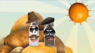 Salty and Pierre look for the number 2, Sesame Street Episode 4408 Mi Amiguita Rosita season 44