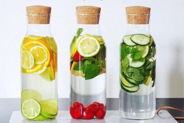 Infused Water, Cara Asyik Minum Air Putih