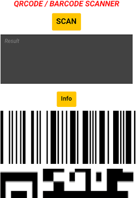 Lettore QR-Code / Barcode (App Android)
