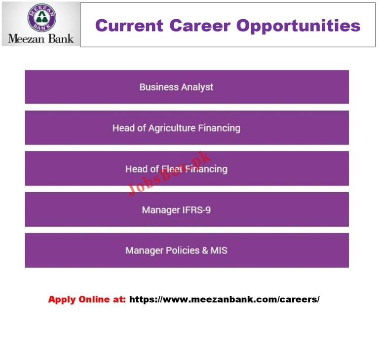 www.meezanbank.com Josb2021 - Meezan Bank Jobs 2021 in Pakistan