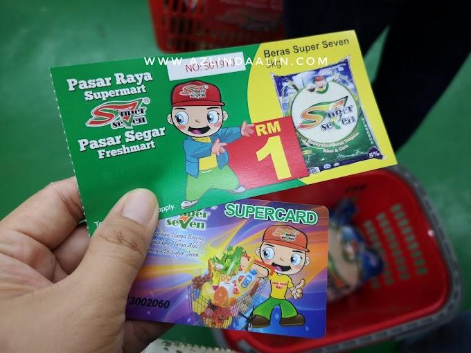 MURAH! BERAS SUPER SEVEN RM1 UNTUK 5KG