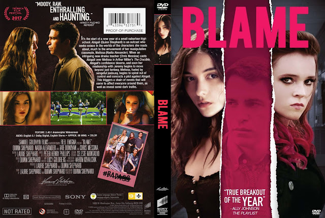 Blame DVD Cover