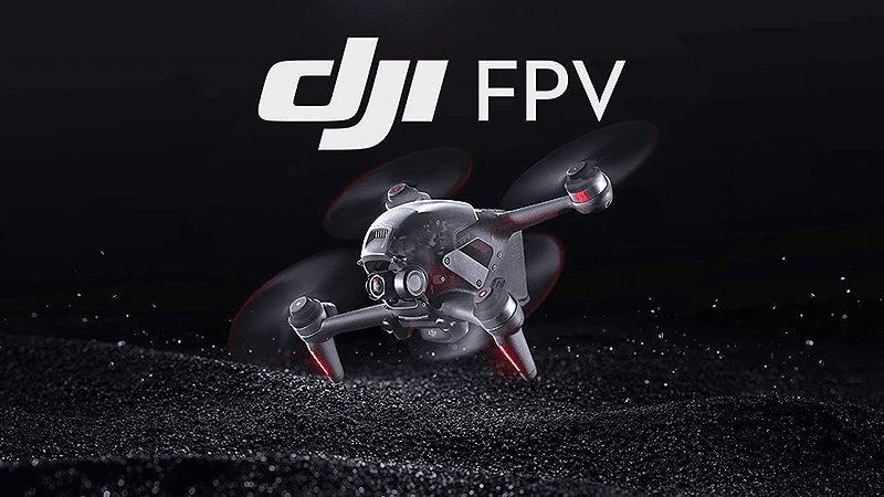 DJI FPV first person hybrid drone launches, has built-in gimbal and can shoot 4K60p videos