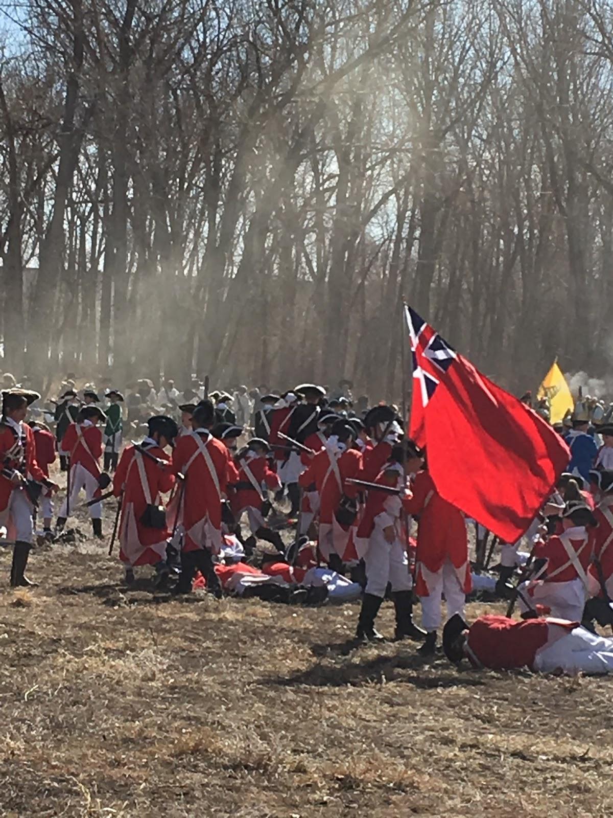 The Battle of Long Island Revolutionary War Reenactment