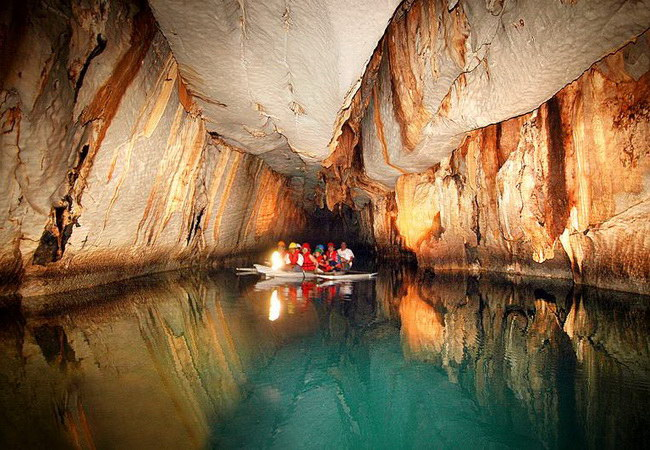 Xvlor Puerto Princesa Subterranean River National Park is spectacular underground river