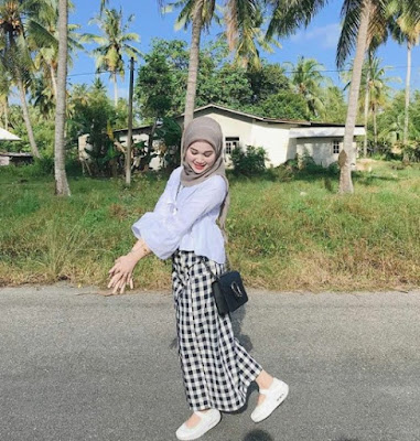 model hijab casual modern terbaru