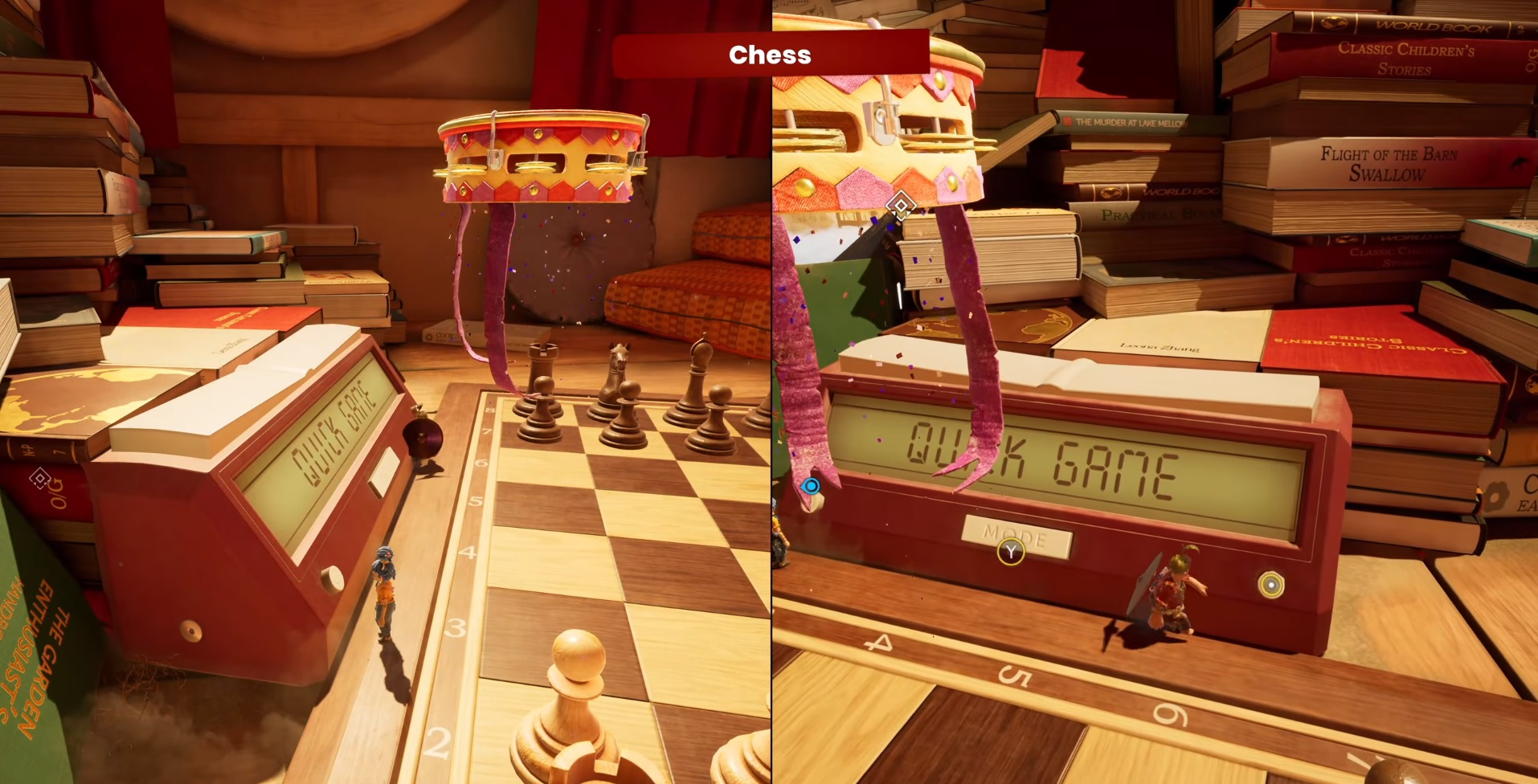 """Mini-game number 22 """"Chess"""""""
