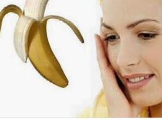 كيفية استعمال قشر الموز للوجه