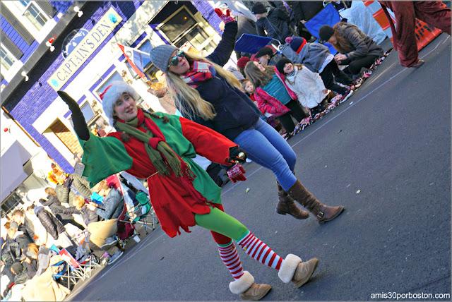 Navidad en el Desfile de Acción de Gracias de Plymouth