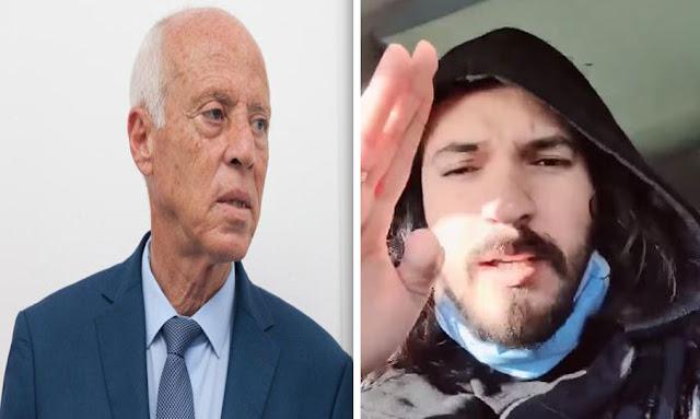 """بالفيديو ...  كريم الغربي يسخر من قيس سعيد :"""" البونية والمشطة تخيّط في مجلس النواب والرئيس ما فماش """"!"""