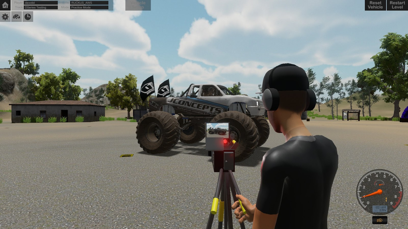 D Series OFF ROAD Driving Simulation 2017-SKIDROW | GajeKompi