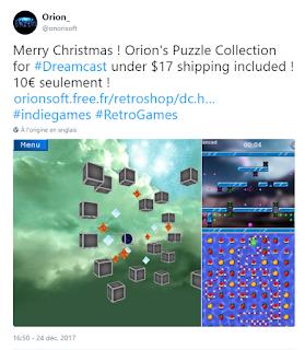 Compil Orion, les différentes news T