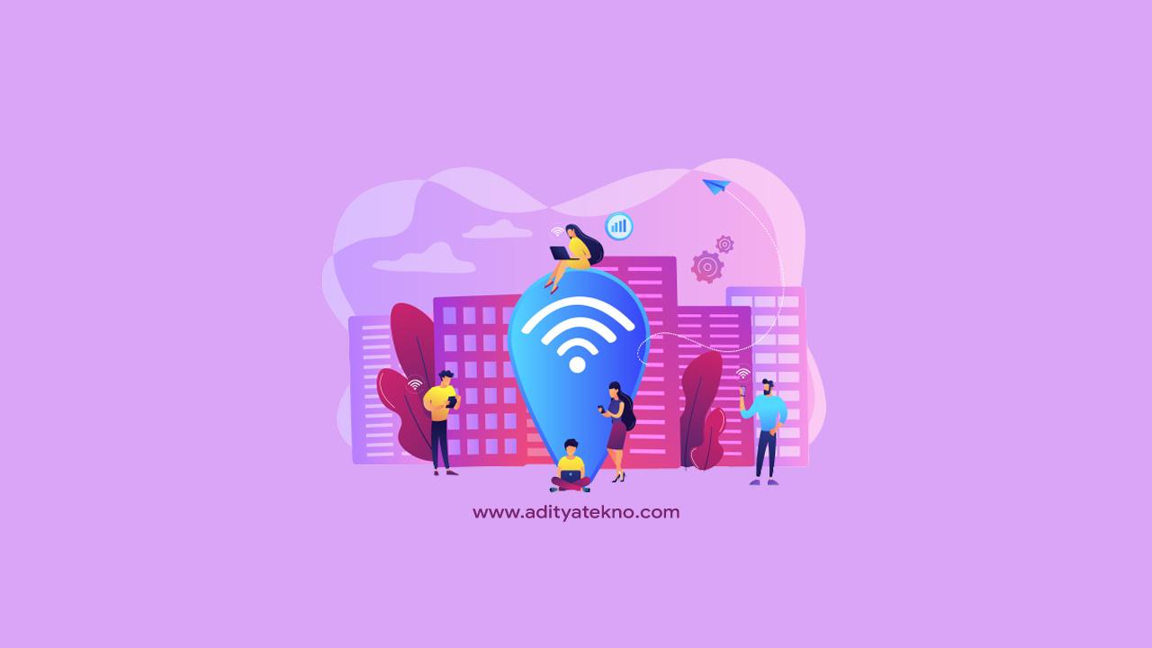 Cara Mengetahui Password WiFi yang Belum Pernah Terkoneksi