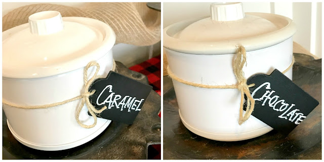 Create a dipping bar with Little Warmers.  One for caramel, one for chocolate