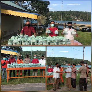 Melayu Raya kecamatan Selayar Bagikan Takjil Gratis