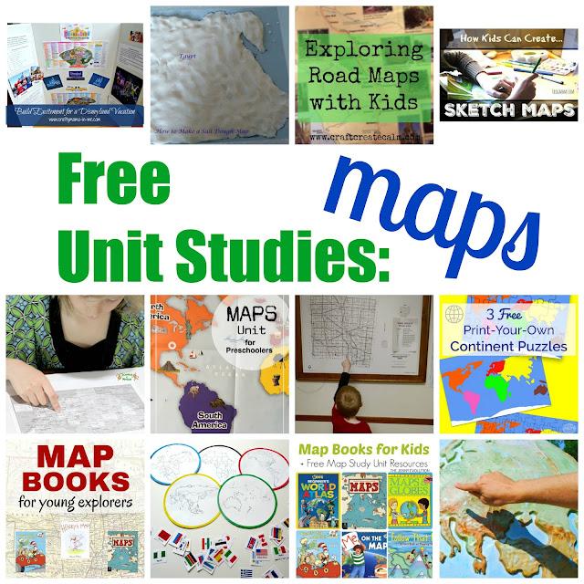 Free Unit Study - Maps