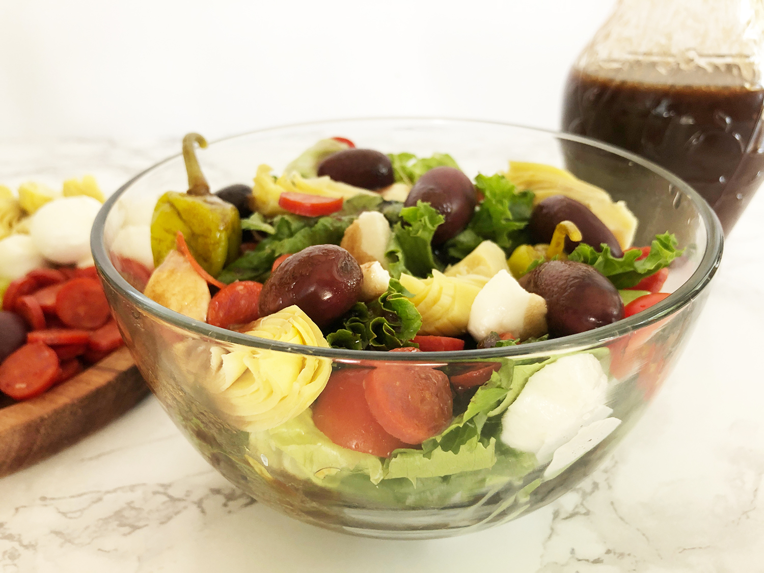 Antipasto Salad with Balsamic Vinaigrette