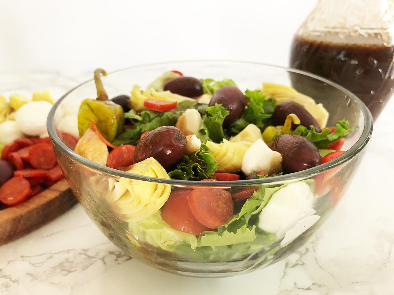 Antipasto Salad with Balsamic Vinaigrette