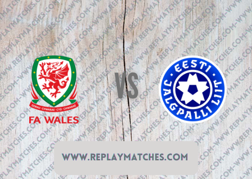 Wales vs Estonia -Highlights 08 September 2021