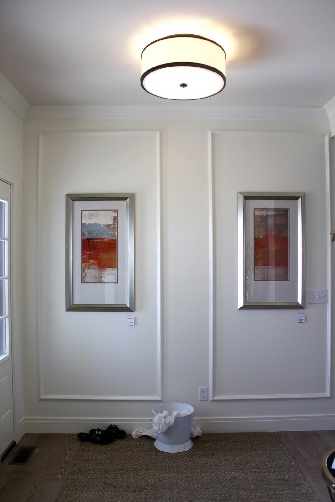 wall paneled entry way