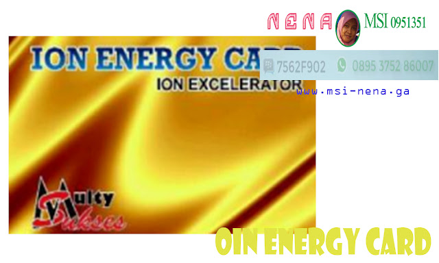 Ion Energy Card