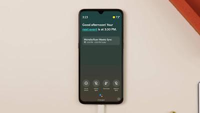 O Modo Ambiente do Assistente do Google é lançado para selecionar telefones Android.