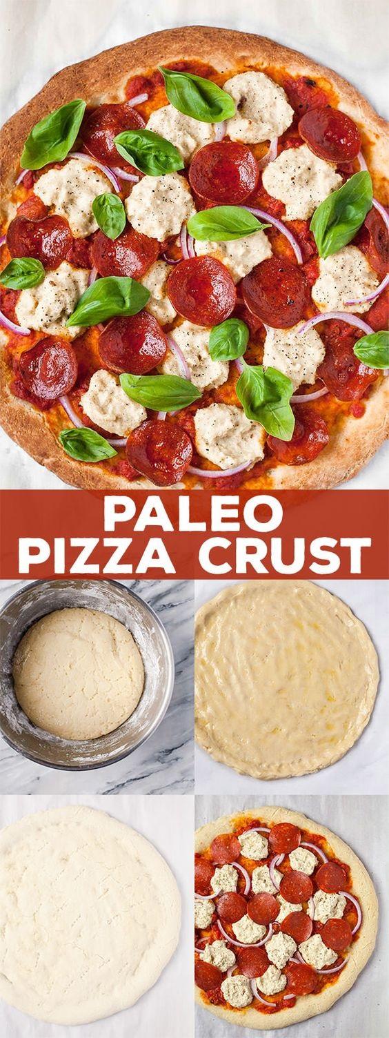 Authentic Paleo Pizza