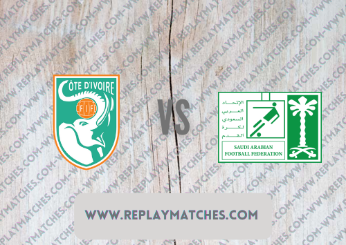 Côte d'Ivoire U23 vs Saudi Arabia U23 -Highlights 22 July 2021
