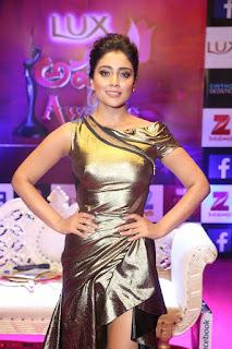 Shreya Saran in Skin Tight Golden Gown ~ CelebsNext Exclusive