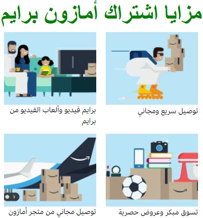 للسعوديين : احصل على اشتراك مجانى لمدة شهر مع أمازون برايم مع هدايا والعاب وتوصيل مجاني