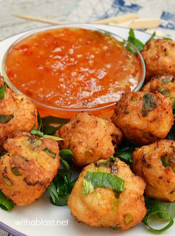 Thai Chicken Nuggets