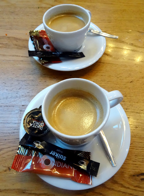 Coffee - The Seafood Bar in Amsterdam