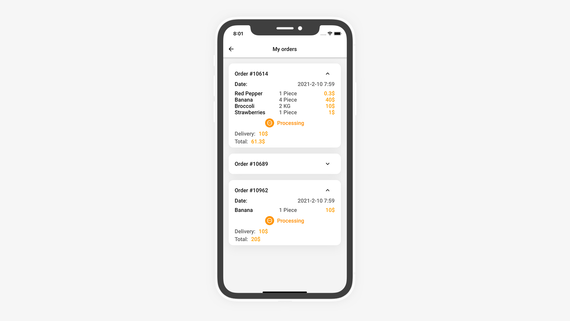 Flutter Grocery: Full Android + iOS eCommerce App - 21
