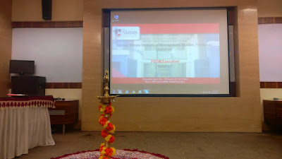 MPE PGDM Inauguration at NMIMS, Hyderabad