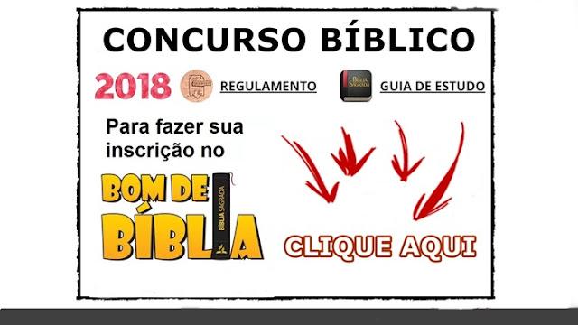 bom de biblia 2018