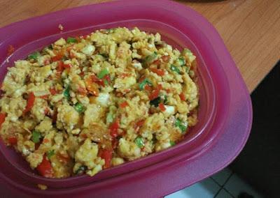menu masakan rumahan sederhana telur orak arik