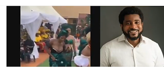 Pastor Kingsley Okonkwo blows hot over viral bridesmaid's cleavage video