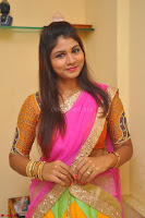 Lucky Sree in dasling Pink Saree and Orange Choli DSC 0326 1600x1063.JPG