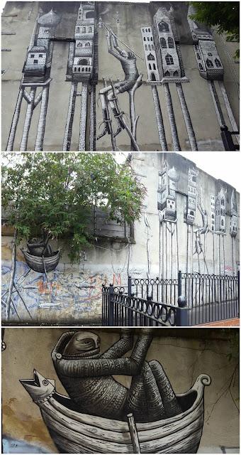 Whoopidooings: Street Art London July 2017 - Phlegm