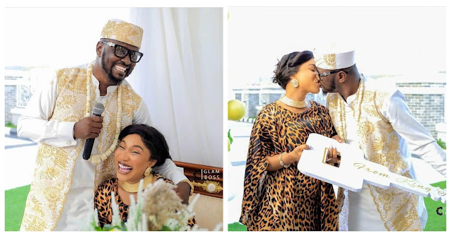 Exposed! She was so sweet in Bed- Tonto Dikeh new lover Prince Kpokpogri gushes over his experience with his sidechick