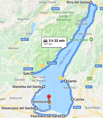 Which is the BEST TOWN to STAY in LAKE GARDA?