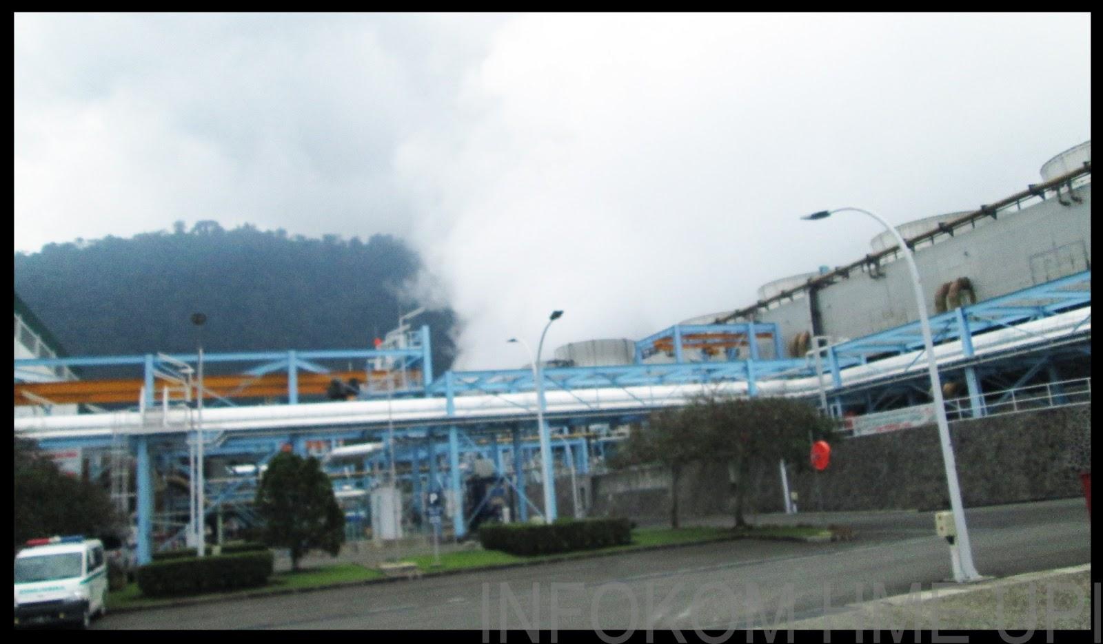 Mengeluarkan suara gemuruh, kondisi sumur pltp wayang windu milik pt.star energy geothermal di wilayah desa margamukti,. Observasi Warga Elektro UPI di PLTP Wayang Windu II ~ HME