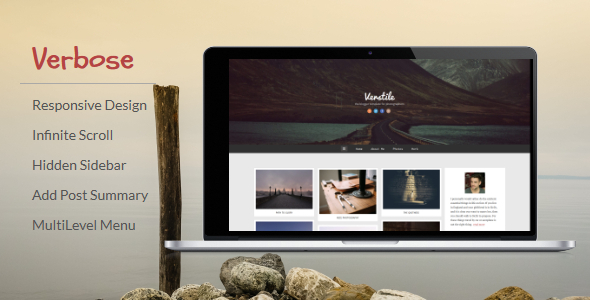 Verbose - Photography Blogger Template