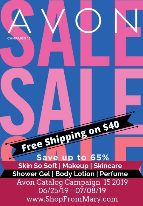 Avon Catalog Campaign 15 2019 - Current Brochure Online