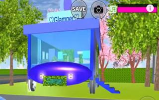 ID Glamper Di Sakura School Simulator